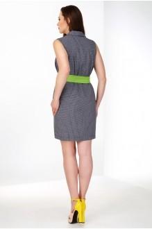 Летнее платье Ивелта Плюс 1460 серый фото 2