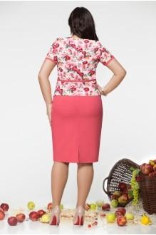 Юбочный костюм /комплект LeNata 21670 цветы фото 2