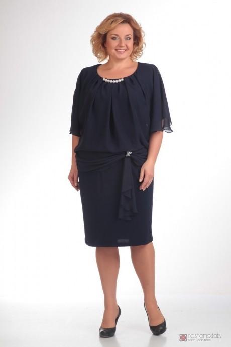 Вечернее платье Прити 154 темно-синий