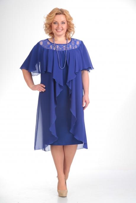 Вечернее платье Прити 168 василек