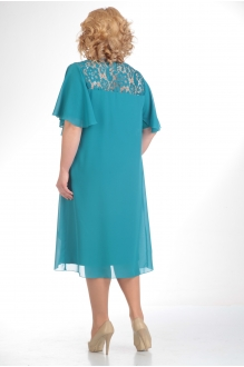 Вечернее платье Прити 168 бирюза фото 2