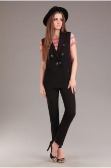 Брючный костюм /комплект Ksenia Stylе 1263 черный фото 1