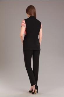 Брючный костюм /комплект Ksenia Stylе 1263 черный фото 2