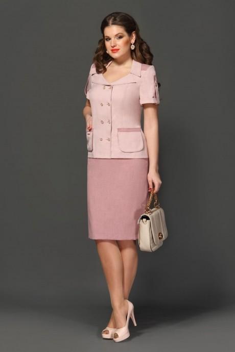 Юбочный костюм /комплект Lissana 2047 розовый