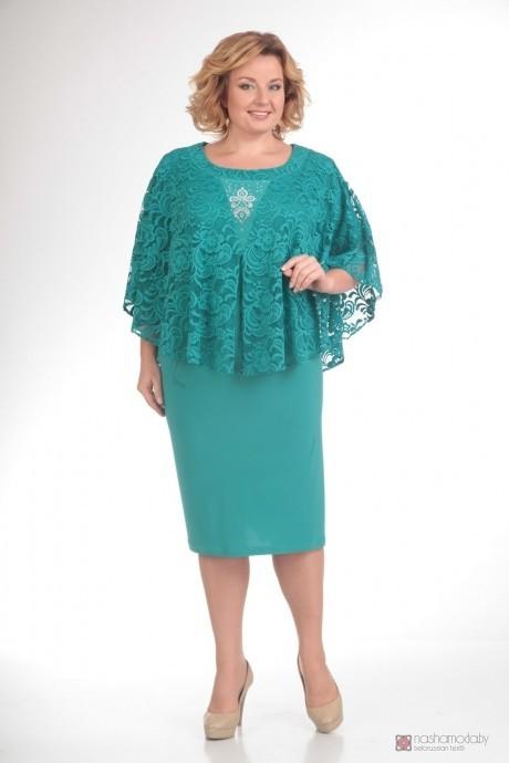 Вечернее платье Прити 340 бирюза