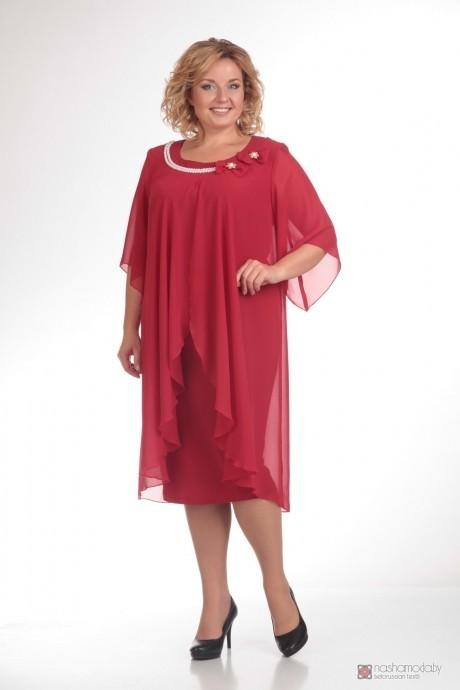 Вечерние платья Прити 342 красный