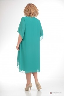 Вечернее платье Прити 343 бирюза фото 2