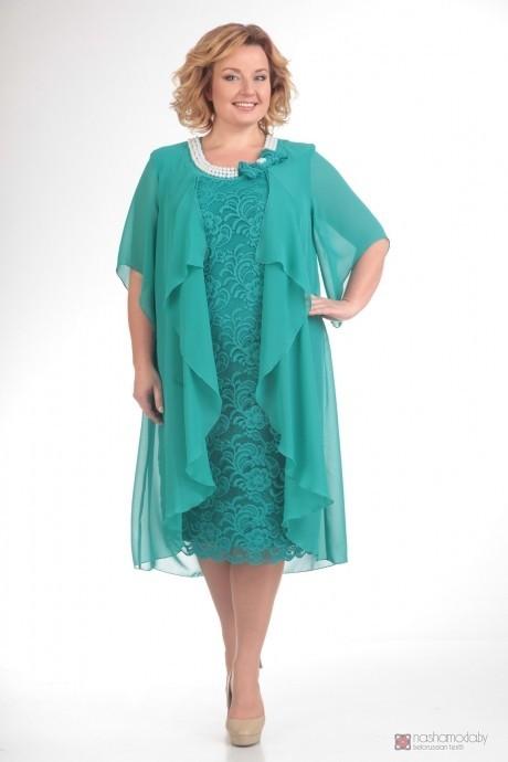 Вечернее платье Прити 343 бирюза