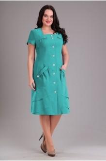 Повседневные платья EOLA 1232 бирюза фото 1