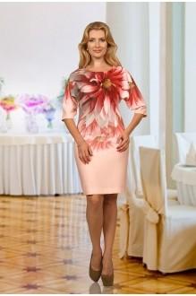 Повседневное платье Мишель Стиль 518 светло-розовый фото 1