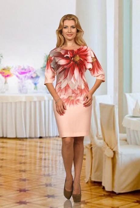 Повседневное платье Мишель Стиль 518 светло-розовый