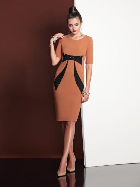 Деловое платье Твой Имидж 4018