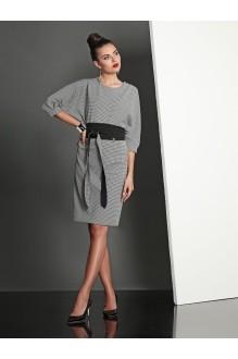 Повседневное платье Твой Имидж 4028 серый фото 1