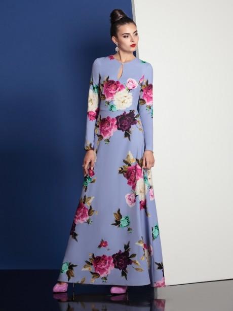 Длинное платье Твой Имидж 4042