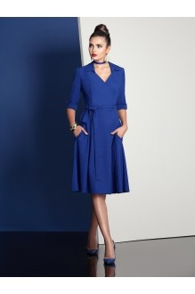Повседневное платье Твой Имидж 4049 василек фото 1