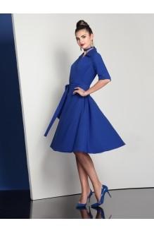 Повседневное платье Твой Имидж 4049 василек фото 2