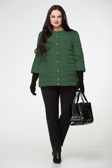 Куртка LeNata 11638 т.зеленый