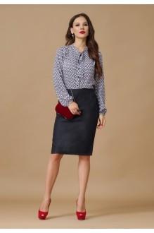 Юбочный костюм /комплект Lissana 2505 темно-серый фото 3