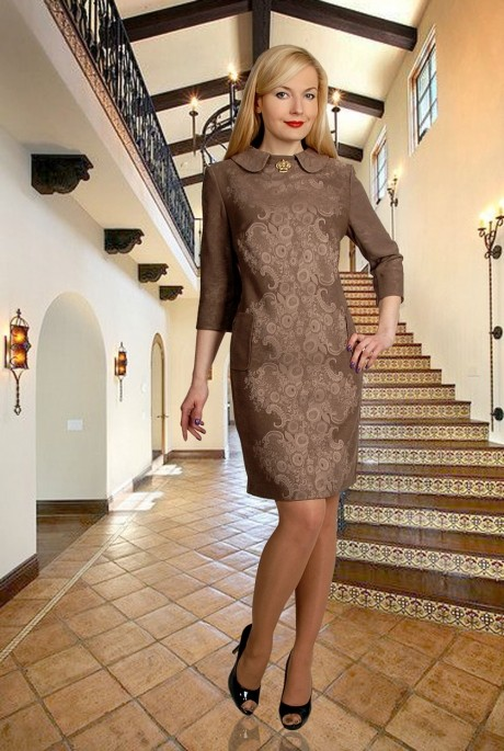 Повседневное платье МиА-Мода 556-16
