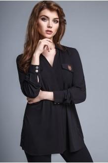 Блузки и туники Teffi Style 1205 черный фото 1