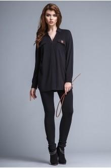 Блузки и туники Teffi Style 1205 черный фото 2