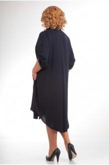 Повседневное платье Прити 452 темно-синий фото 2