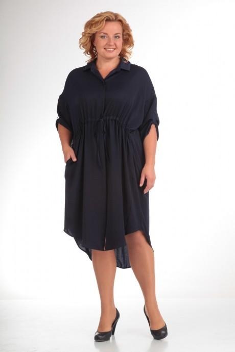 Повседневное платье Прити 452 темно-синий