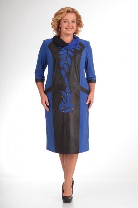 Повседневное платье Прити 466 синий