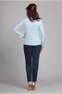Брючный костюм /комплект Мублиз 022 голубой + синий фото 2