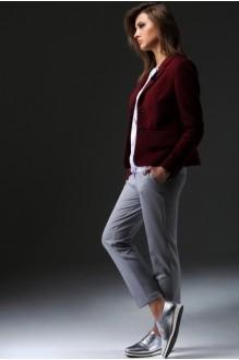 Жакет (пиджак) Nova Line 1616 бордо фото 1