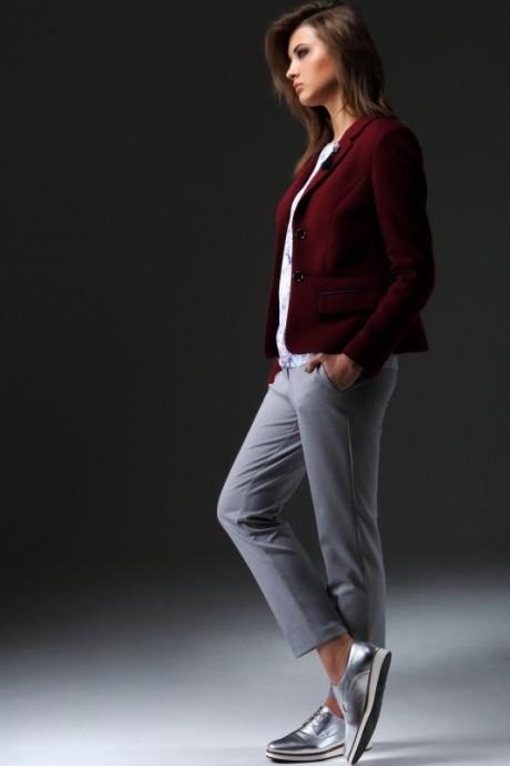 Жакет (пиджак) Nova Line 1616 бордо