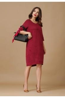 Повседневное платье Lissana 2876 бордо фото 1
