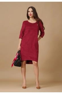 Повседневное платье Lissana 2876 бордо фото 2