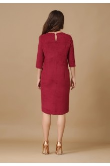Повседневное платье Lissana 2876 бордо фото 3