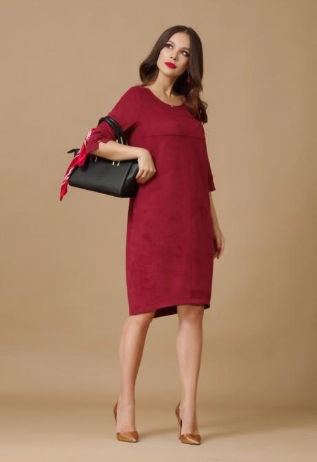 Повседневное платье Lissana 2876 бордо