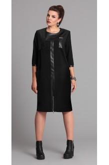 Повседневные платья Галеан-стиль 526 черный фото 1