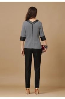 Брючные костюмы /комплекты Lissana 2881 серый/черный фото 2