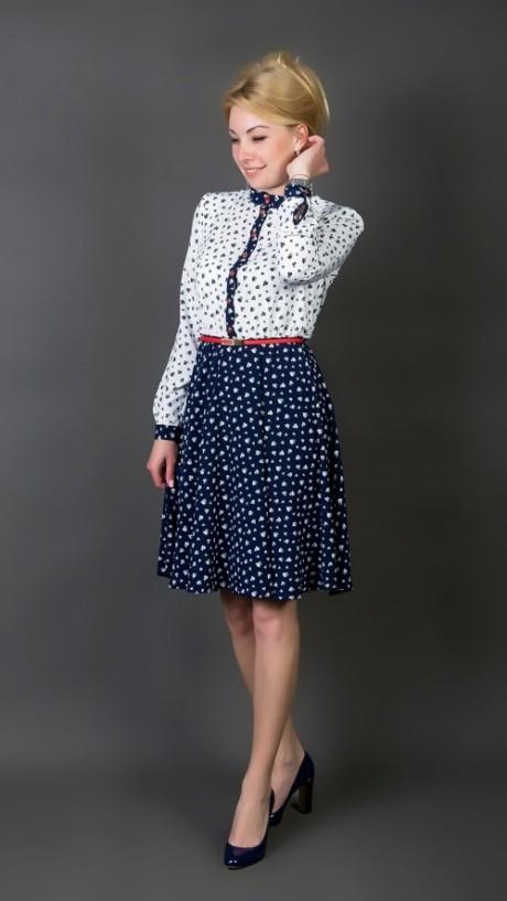 Повседневное платье TricoTex Style 2316