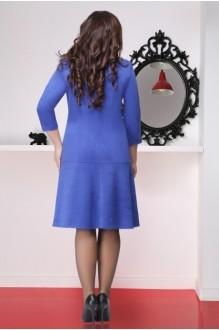 Повседневное платье LeNata 11696 василек фото 2
