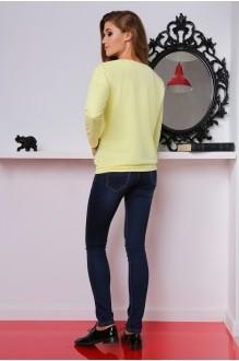 Джемпер (кофта) LeNata 11698 желтый фото 2
