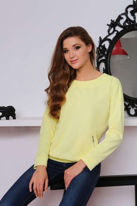 Джемпер (кофта) LeNata 11698 желтый