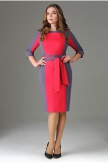 Повседневное платье AXXA 53981 малина фото 1