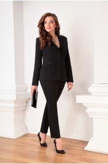 Брючный костюм /комплект Ksenia Stylе 1309 черный фото 1