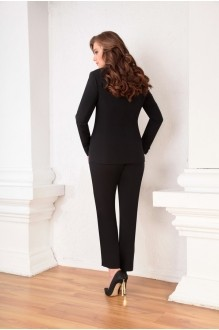 Брючный костюм /комплект Ksenia Stylе 1309 черный фото 2