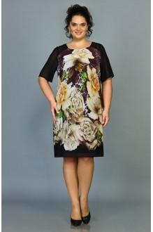 Повседневные платья ALANI COLLECTION 380 бежевые цветы фото 1