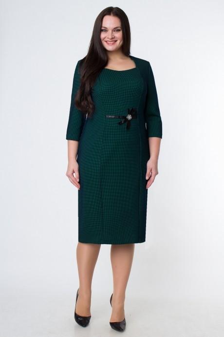 Повседневное платье Bonna Image 13-038 зелёный