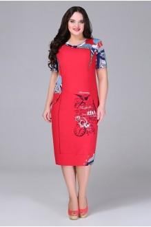 Повседневное платье Bonna Image 13-205 красный фото 1