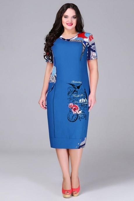 Повседневное платье Bonna Image 13-205 василёк
