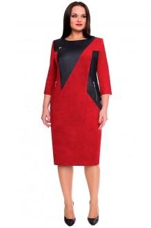 Повседневное платье Bonna Image 15-138 красный фото 1