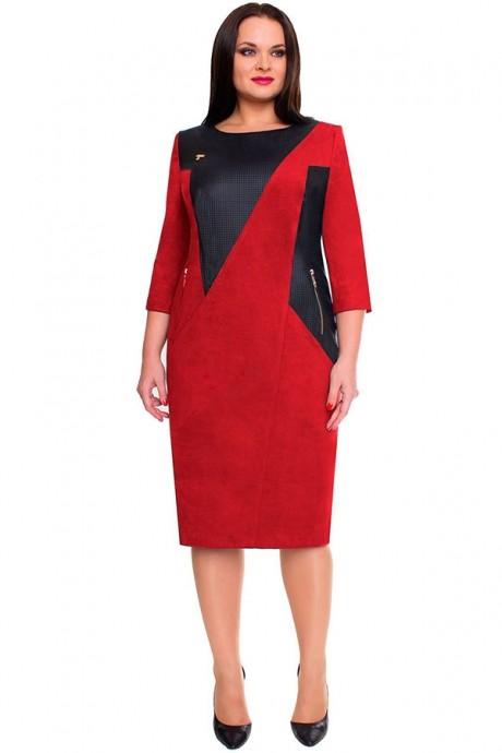 Повседневное платье Bonna Image 15-138 красный
